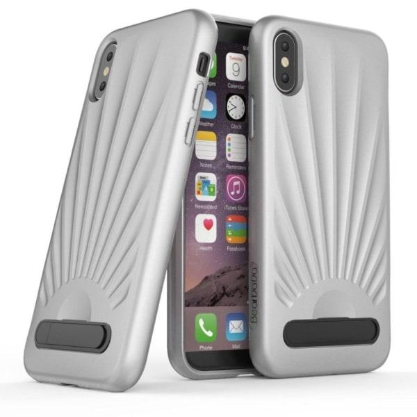 iPhone X Skal med snäck design - Grå