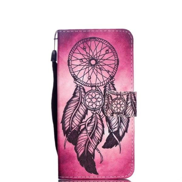 iPhone Xr mobilfodral syntetläder silikon stående plånbok tr