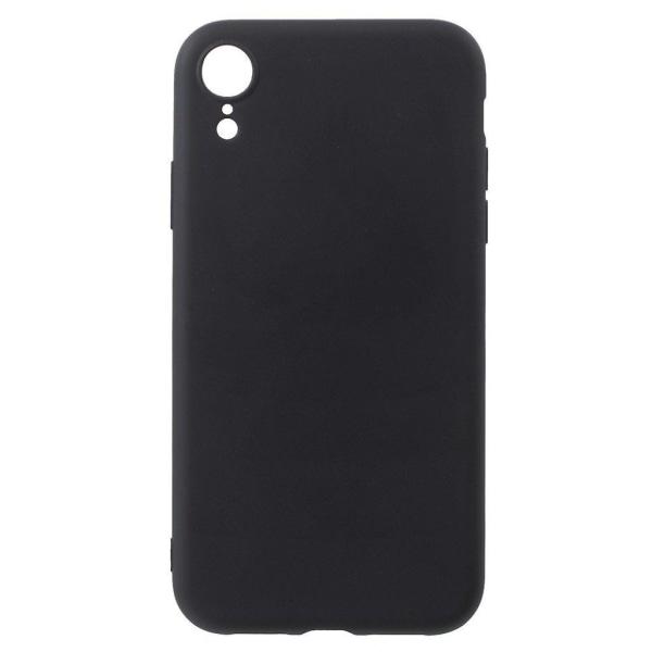 iPhone XR mobilskal silikon frostad - Svart