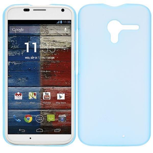Lent (Blå) Motorola Moto X Skal