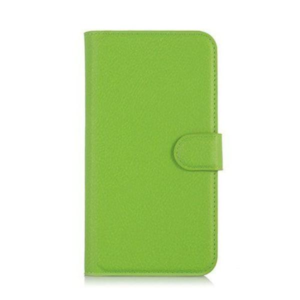 Mankell Lychee Läderfodral för Huawei Y3 Y360 - Grön