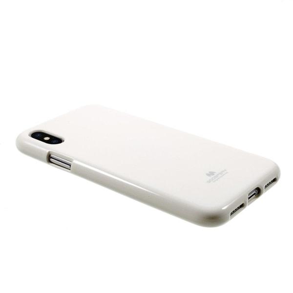 MERCURY iPhone X Skal i miljövänligt material - Vit