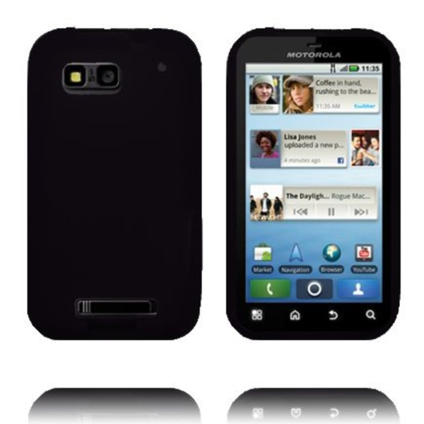 Mjukskal - New Cut (Svart) Motorola Defy Skal