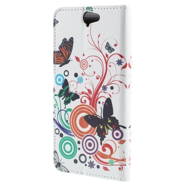 Moberg HTC One A9 Fodral - Fjäril Cirklar