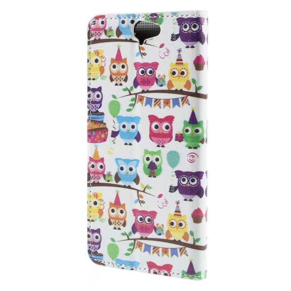 Moberg HTC One A9 Fodral - Multipla Ugglor