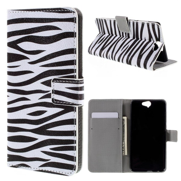 Moberg HTC One A9 Fodral - Zebra Ränder