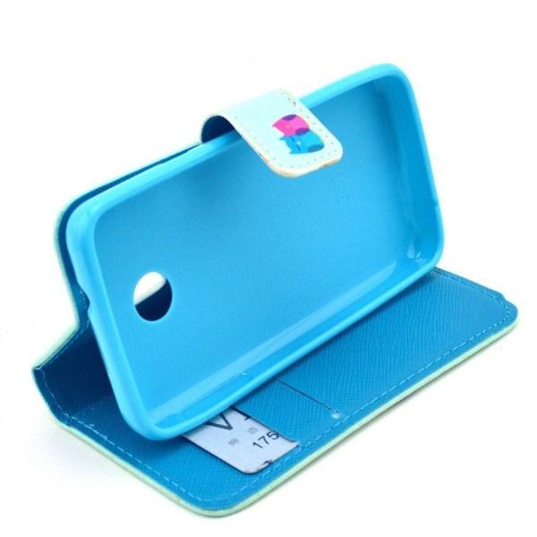Moberg Plånboks Läderfodral för Huawei Ascend Y330 - Uggle P