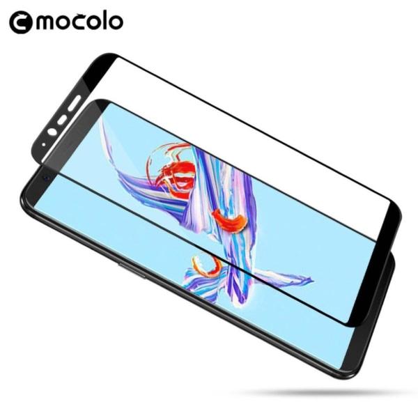 MOCOLO OnePlus 5T Lätt installerat extra glas - Genomskinlig