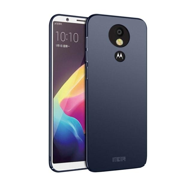 MOFI Motorola Moto E5 Plus mobilskal plast matt - Blå