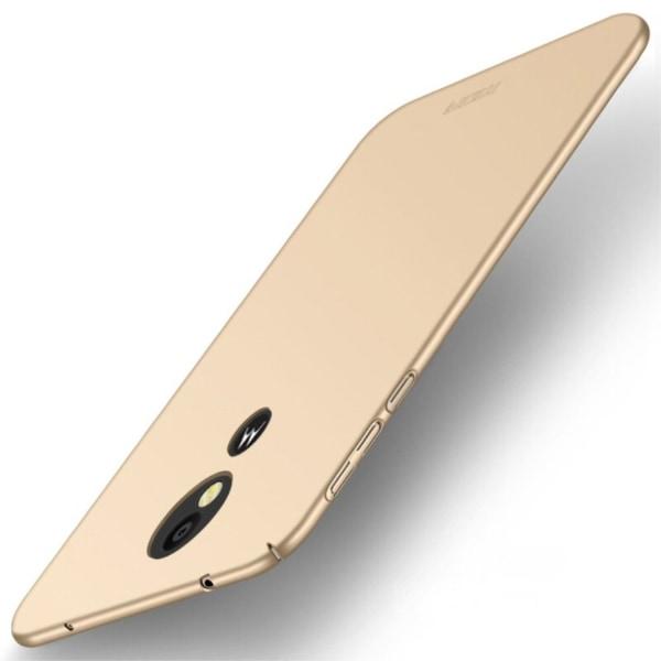 MOFI Motorola Moto E5 Plus mobilskal plast matt - Guld