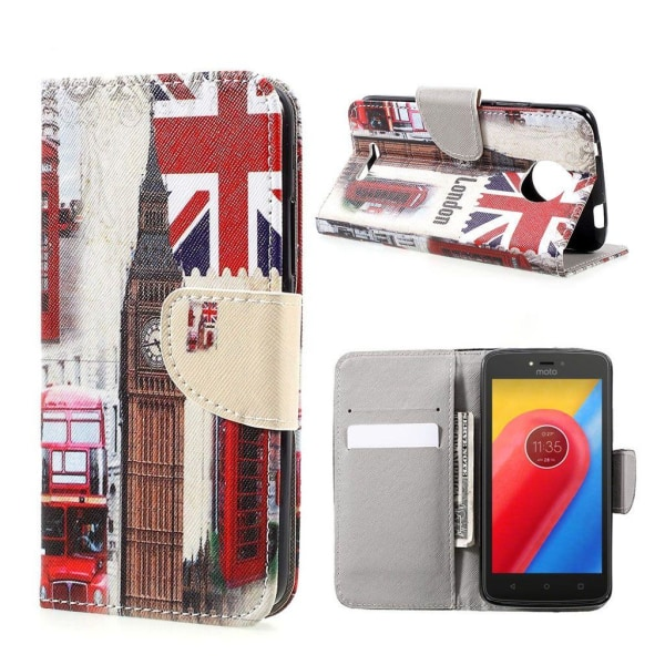 Motorola Moto C Fodral med unikt motiv - London