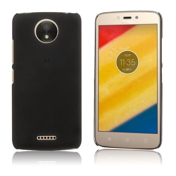 Motorola Moto C Plus Enkelt enfärgat fodral - Svart