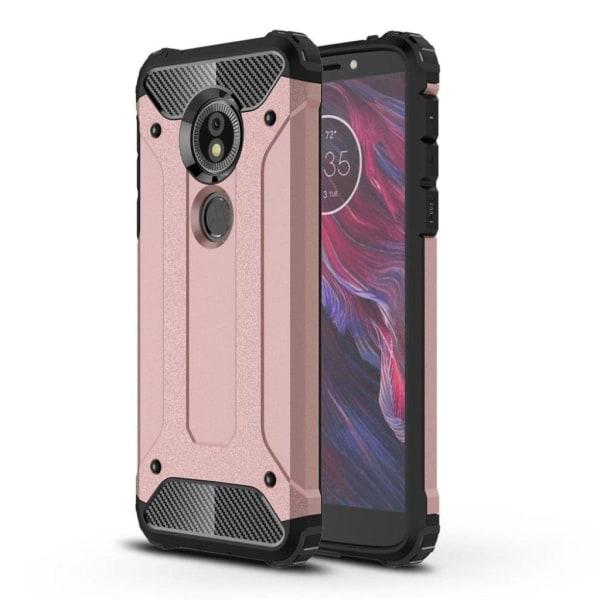 Motorola Moto E5 / G6 Play mobilskal TPU och hårdplast mater
