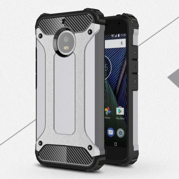 Motorola Moto G5S Hybird skal - Grå