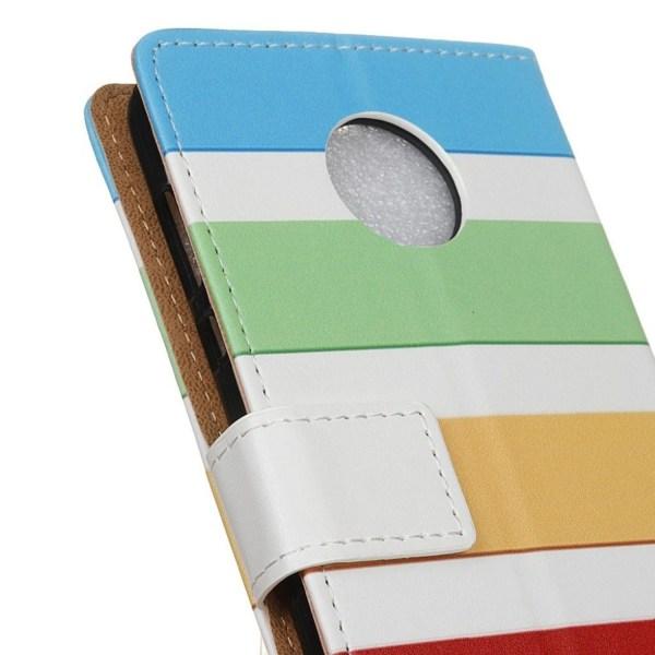 Motorola Moto Z2 Play Fodral med läckert motiv - Färg stripe