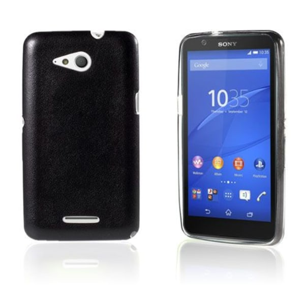 Nesboe Sony Xperia E4g E2003 / Dual 2033 Leather Coated TPU