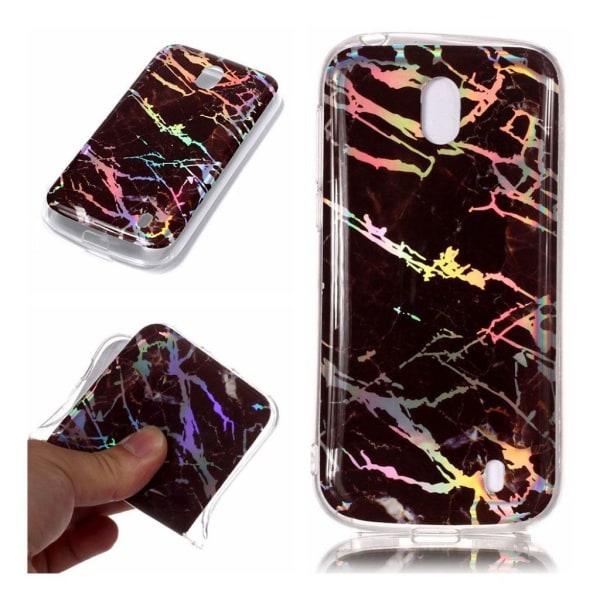 Nokia 1 mobilskal silikon marmor - Svart