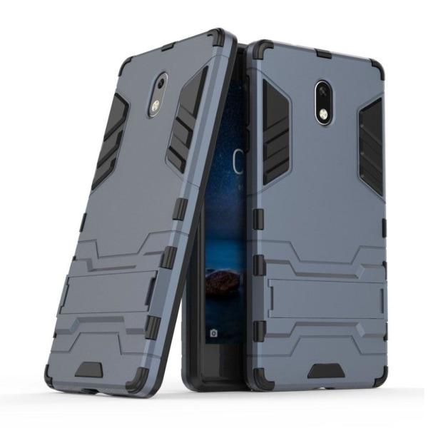 Nokia 3 Slimmat hybird skal - Mörk blå