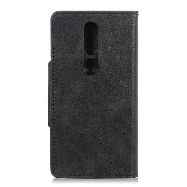 Nokia 4.2 wallet leather case - Black