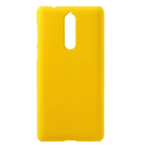 Nokia 8 Enfärgat fodral - Gul
