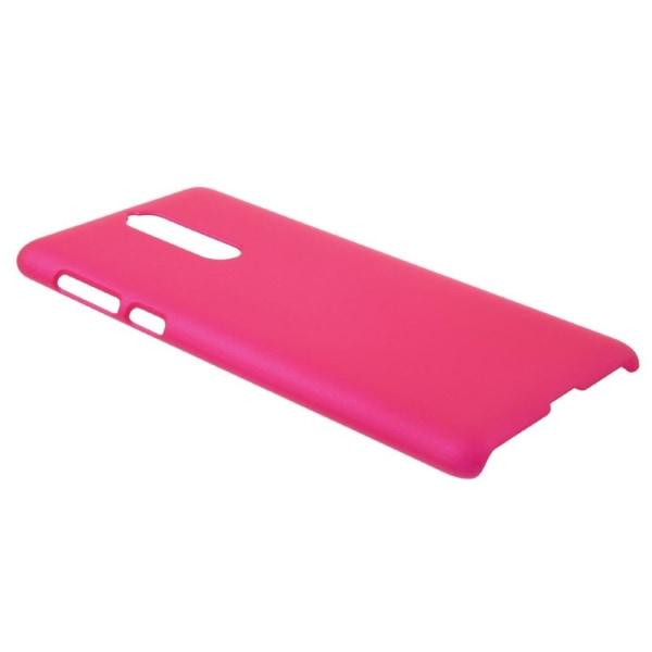 Nokia 8 Enfärgat fodral - Rosa