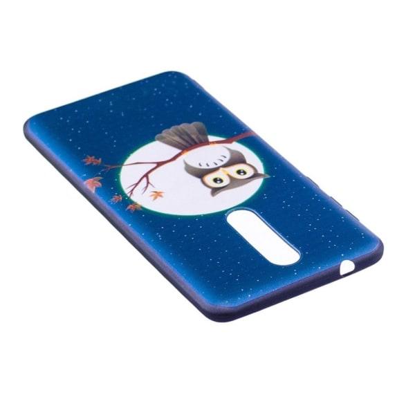 Nokia 8 mobilskal TPU material skyddande elastisk mönster på
