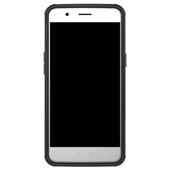OnePlus 5 Hybird skal med unikt kickstand - Svart