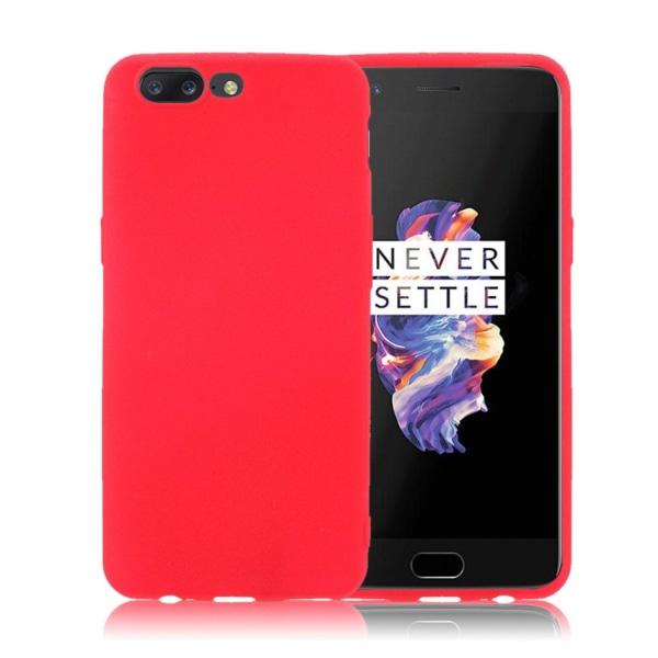 OnePlus 5 Skal i miljövänligt material - Röd