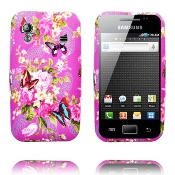 Paradise Garden (Lila Sky) Samsung Galaxy Ace Silikonskal