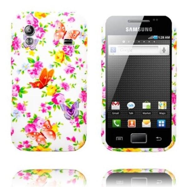 Paradise Garden (Orange & Röda Fjärilar) Samsung Galaxy Ace