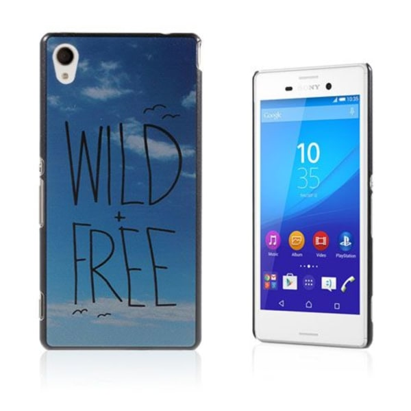 Persson Sony Xperia M4 Aqua Skal - Sky & Wild Free
