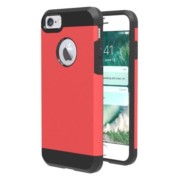 Rebild Slim Hybrid Skal för iPhone 7 / 8 - Röd