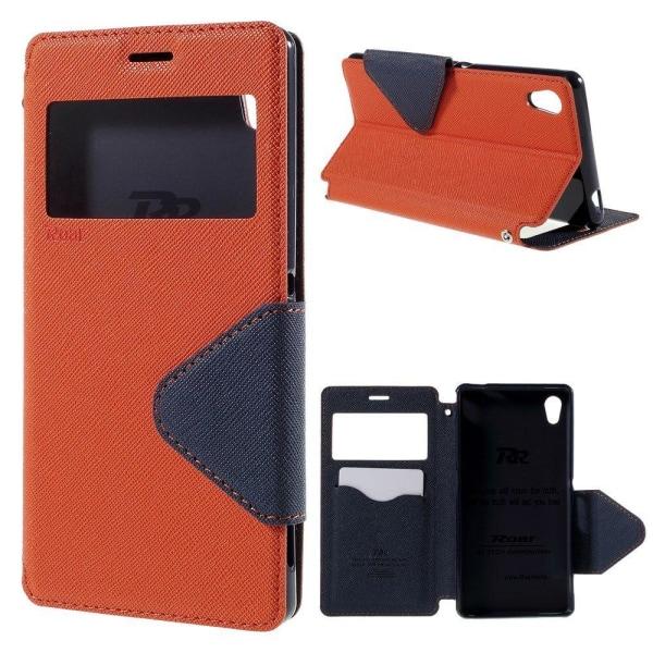 ROAR KOREA Sony Xperia M4 Aqua Fodral - Orange