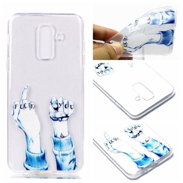 Samsung Galaxy A6 (2018) mobilskal TPU skydd mönster - Förol
