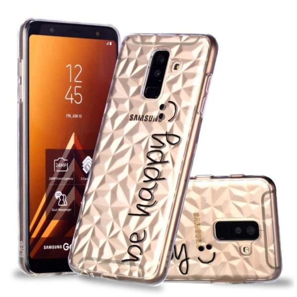 Samsung Galaxy A6 Plus (2018) mobilskal silikon tryckmönster