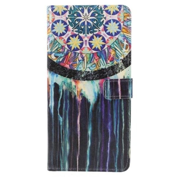 Samsung Galaxy J6 (2018) mobilfodral konstläder silikon plån