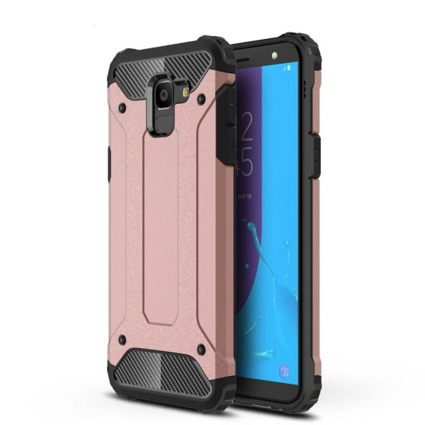 Samsung Galaxy J6 (2018) mobilskal plast TPU armerad - Rosen