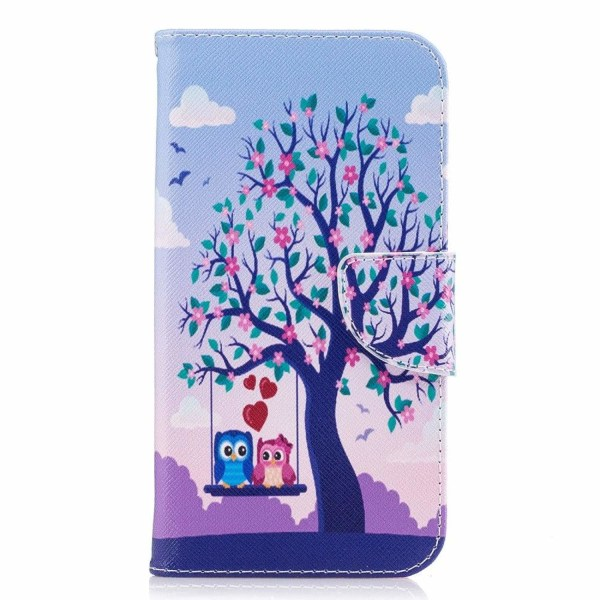 Samsung Galaxy J7 (2017) Fodral med unikt motiv  - Rosa träd