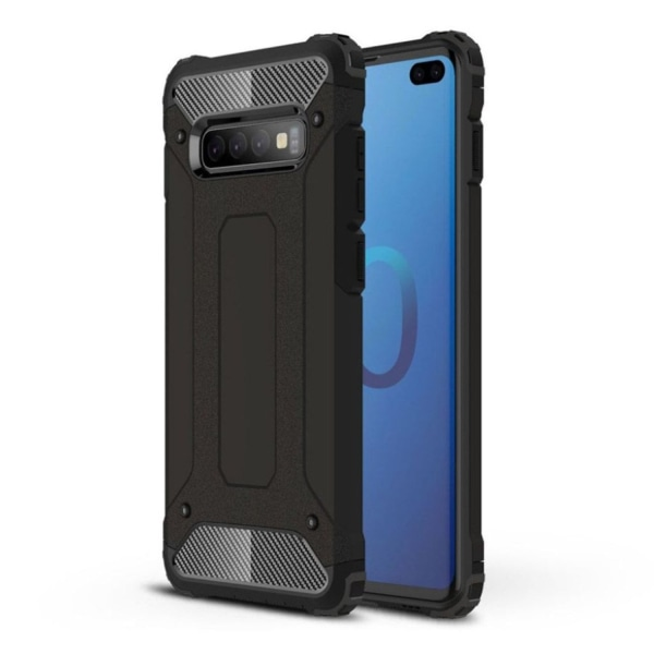 Samsung Galaxy S10 Plus armor guard hybrid case - Black