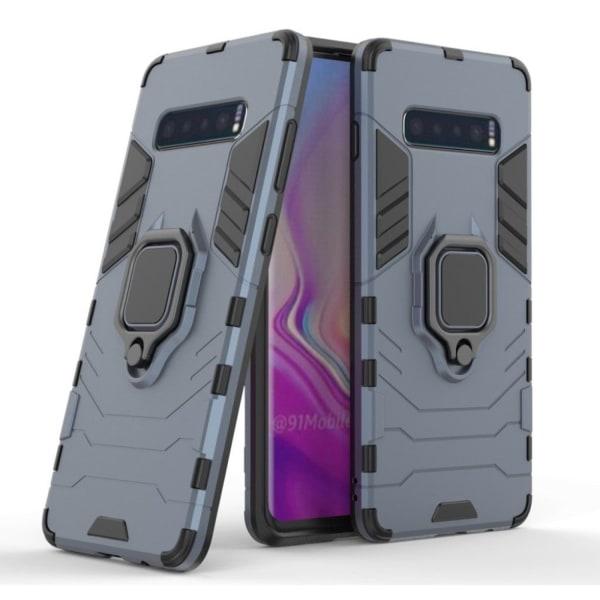 Samsung Galaxy S10 Plus kickstand hybrid case - Dark Blue