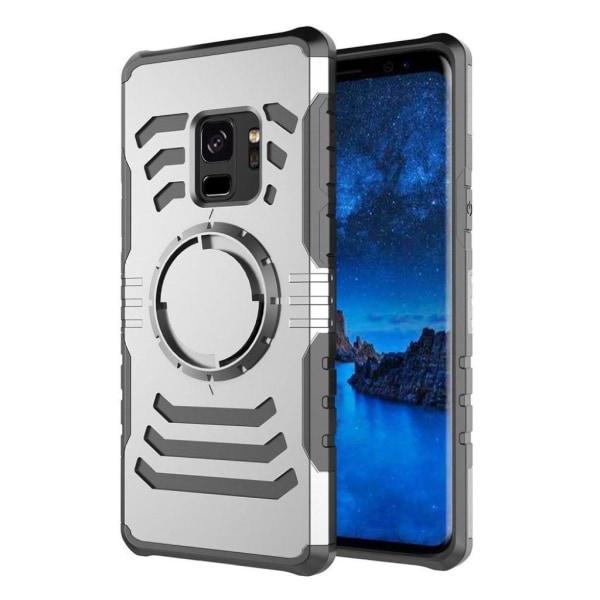 Samsung Galaxy S9 Exklusivt hybrid skal - Silver