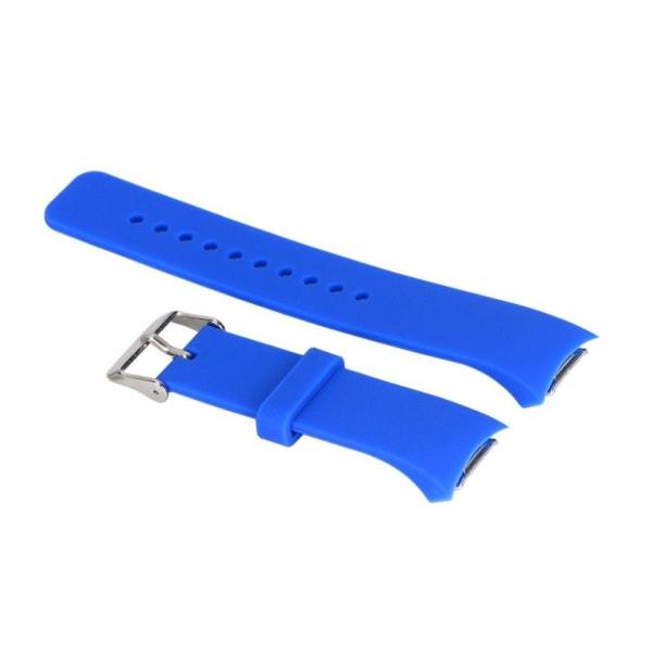 Samsung Gear S2 Enfärgat silikon klockband - Blå