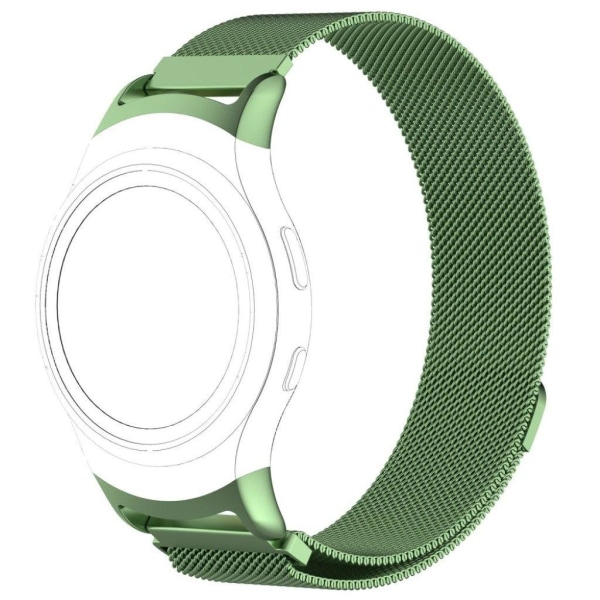 Samsung Gear S2 Modernt klockband i stål - Grön