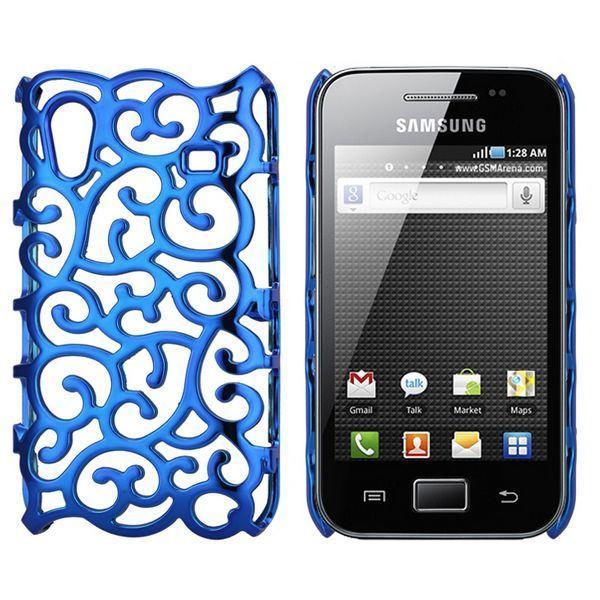 Shiny Air Shell (Blå) Samsung Galaxy Ace Skal