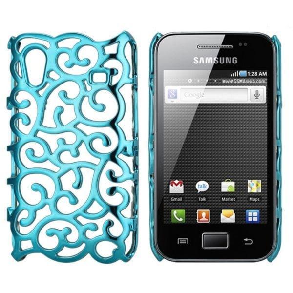 Shiny Air Shell (Ljusblå) Samsung Galaxy Ace Skal