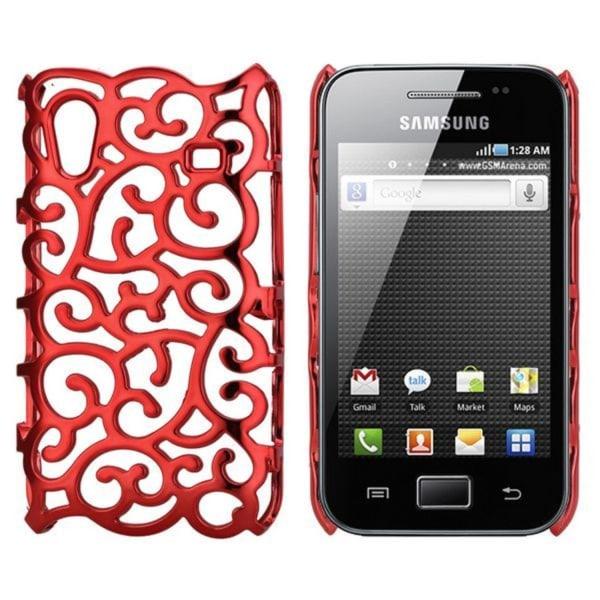 Shiny Air Shell (Röd) Samsung Galaxy Ace Skal