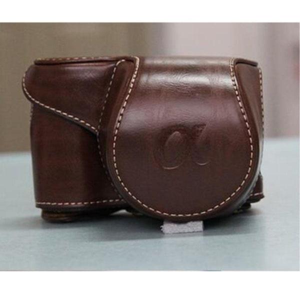 Sony Alpha A6300A6000 Kamera väska i läder - Brun