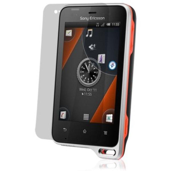 Sony Ericsson Xperia Active Displayskydd (Klar)