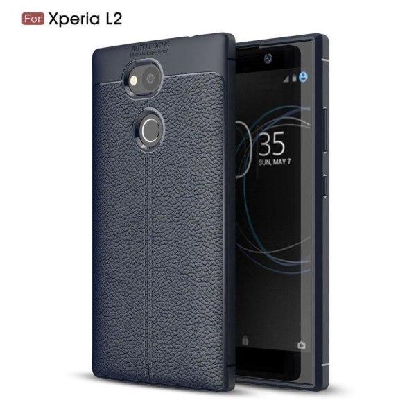 Sony Xperia L2 Unikt skal - Mörk blå