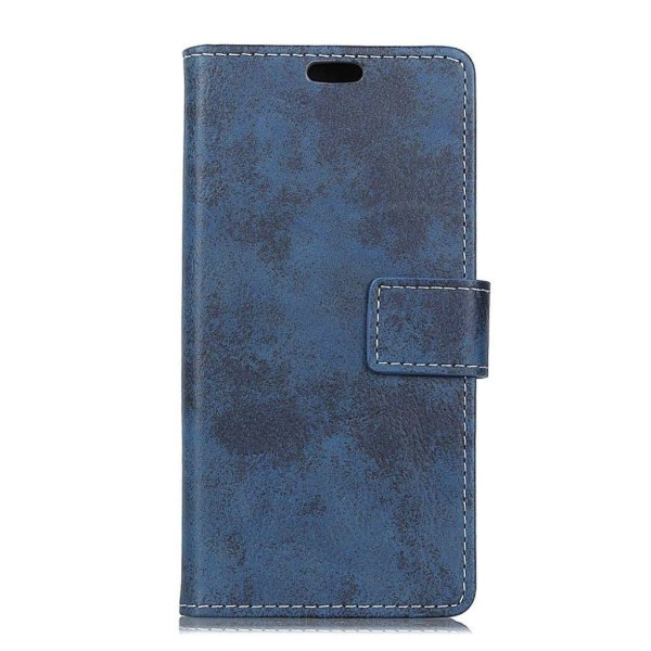 Sony Xperia L2 Vintage designat fodral - Blå